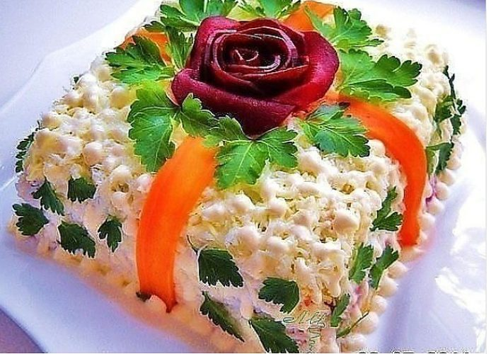 Рецепт салатов красивых