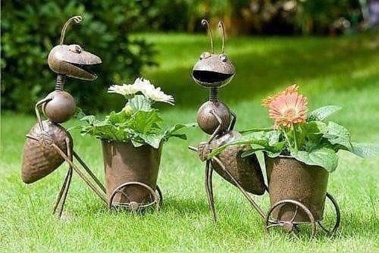 Фигуры для огорода