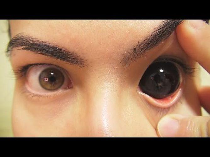 Как сделать фото глаза на телефон