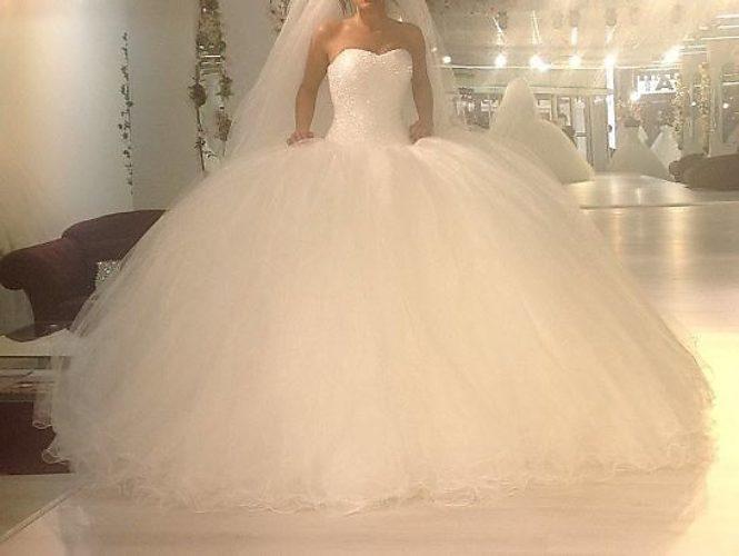 Фото пышных свадебных платье 107