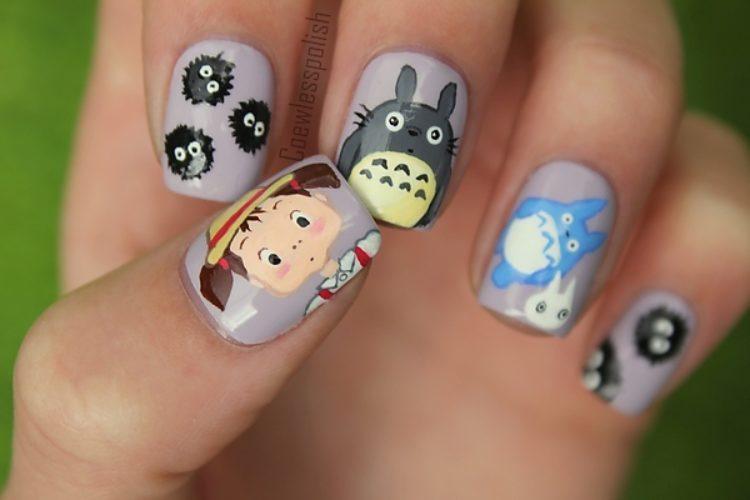 Фото зверюшек на ногтях