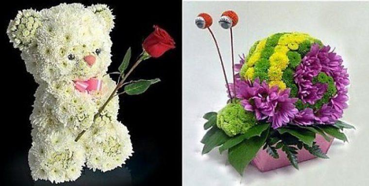 Поделки из цветов своими руками фото для школы