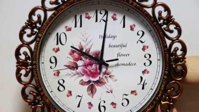 Очень красивые часы своими руками