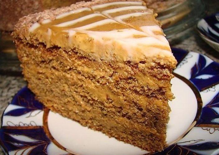 Рецепты тортов сгущенкой фото
