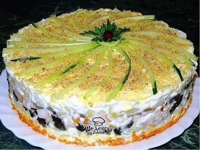 Рецепты вкусных салатов праздничный стол фото