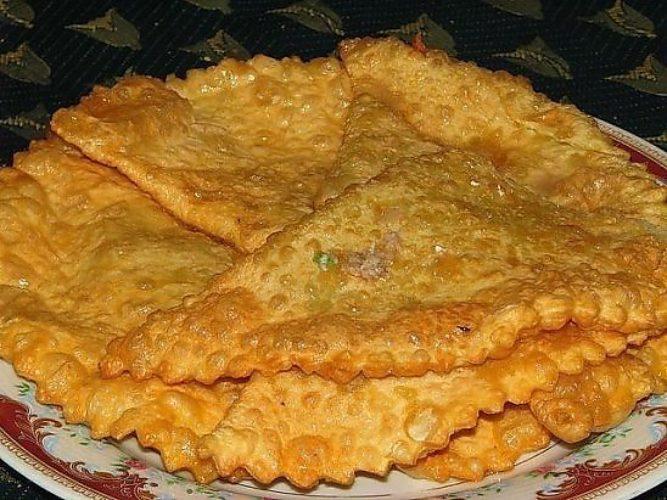Чебуреки татарские рецепт с фото