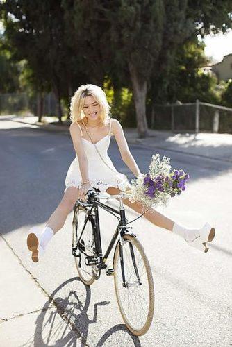 Велосипедами знакомства с девушки