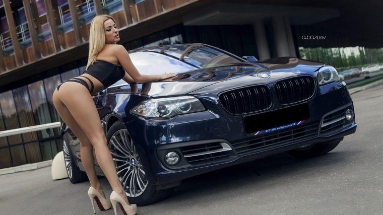 картинки девушки машины