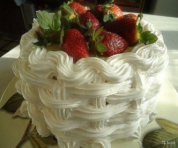 Торт из безе рецепт с фото